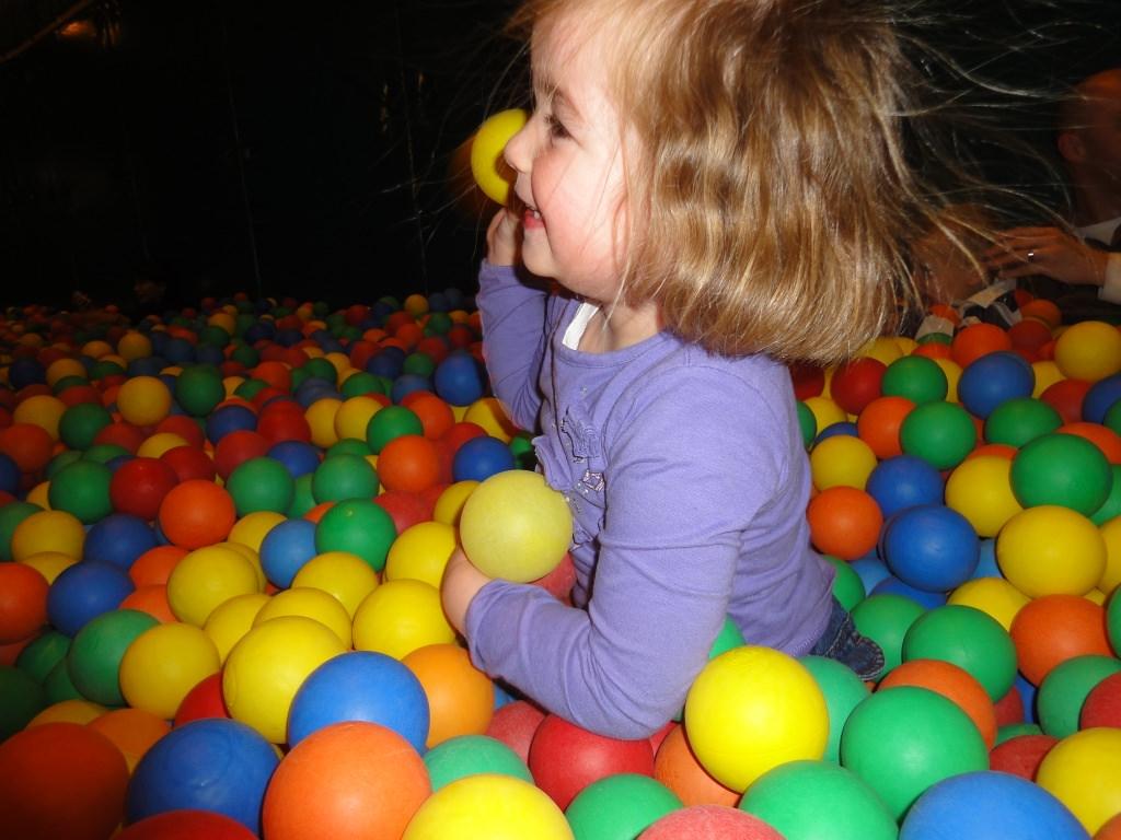 Lekker spelen in de ballenbak